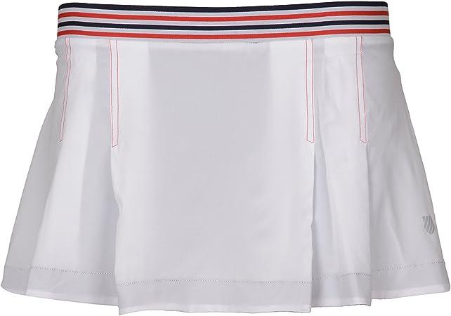 K-Swiss Falda Heritage - Falda de Tenis Mujer: Amazon.es ...