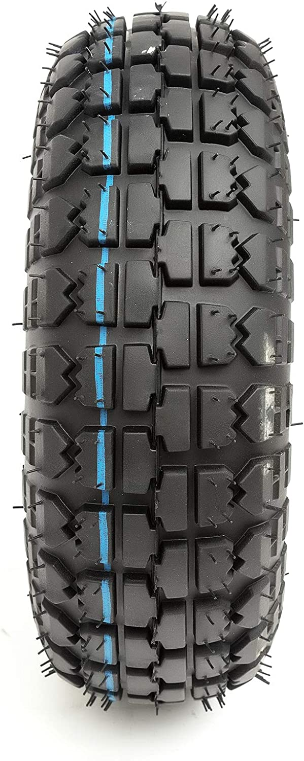 Heavy Duty 4 Ply Tyre 4.10//3.50-4 Off Road Knobbly Tread 4 Inch Wheel Electric Scooter