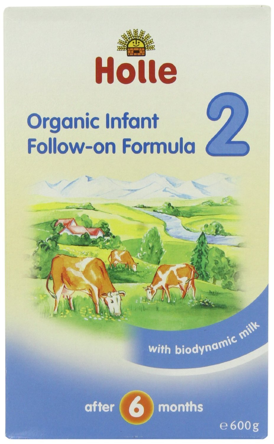 Org Baby Infant Follow On 2 (600g) - x 2 *Twin DEAL Pack* Holle
