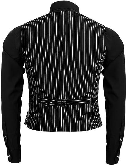 Nofonda 1920s Disfraz de Gangster,Camisa,Chaleco y Corbata,Traje ...