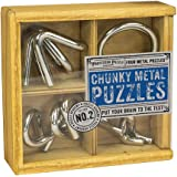 Professor Puzzle Academy Chunky Metal Brain Teaser