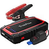 TrekPow Car Battery Jump Starter, 800A Peak 12V Portable Auto Battery Booster (up to 6.0L Gas / 5.0L Diesel Engine) Phone Charger Jump Pack for Cars, Truck, SUV, UL Certified