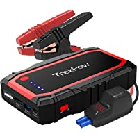 $59 » TrekPow A18 800A Peak Portable Car Jump Starter with USB Quick Charge 3.0 (up to 6.0L…