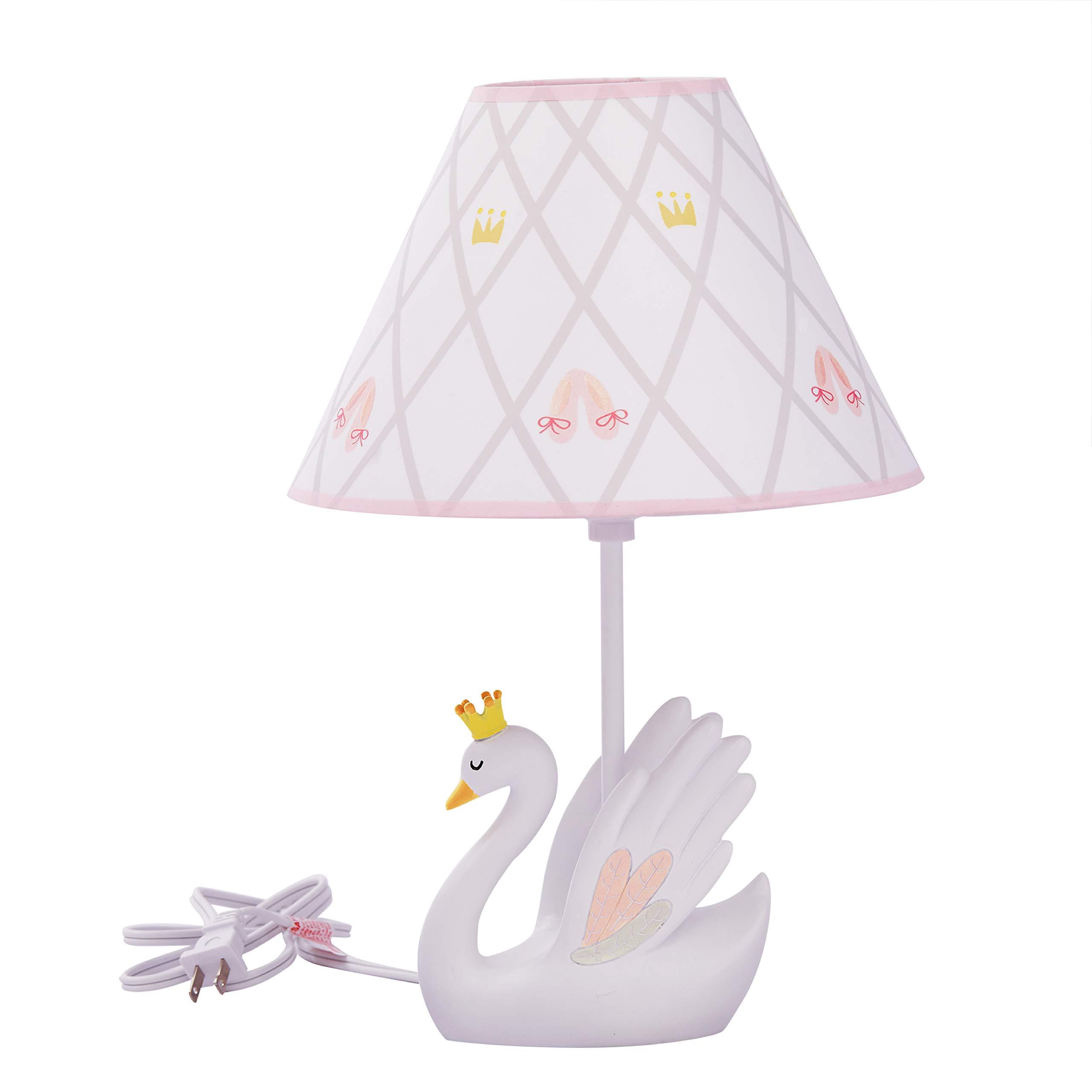 Fantasy Fields - Swan Lake Table Lamp | Kids Bedroom Night Light | Thematic Kids Table Lamp