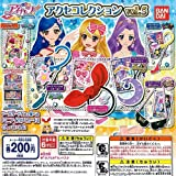 Aikatsu! Access collection vol.5 whole set of 6 Bandai Gachapon