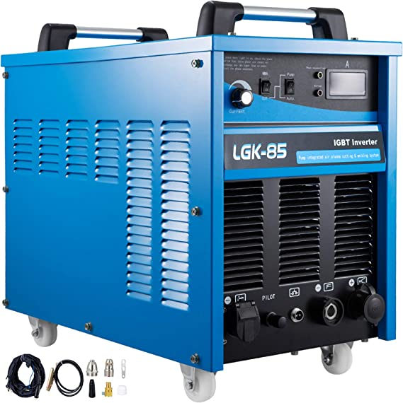 Mophorn Plasma Cutter with Built-In Air Compressor 85 Amp