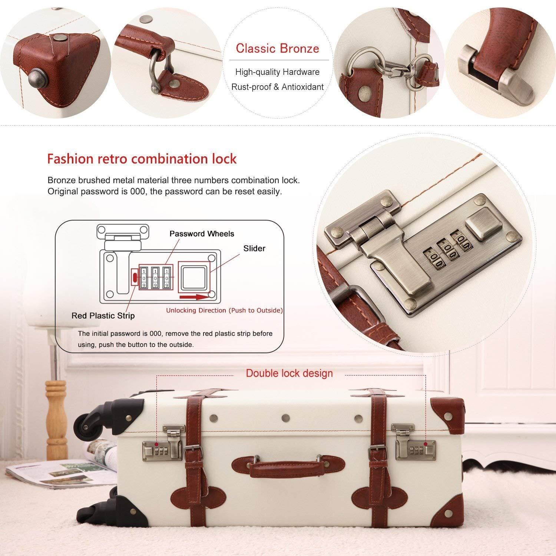 6d2728d49fee Travel Trolley Case - 4 Wheels Number Lock Suitcase - School ...