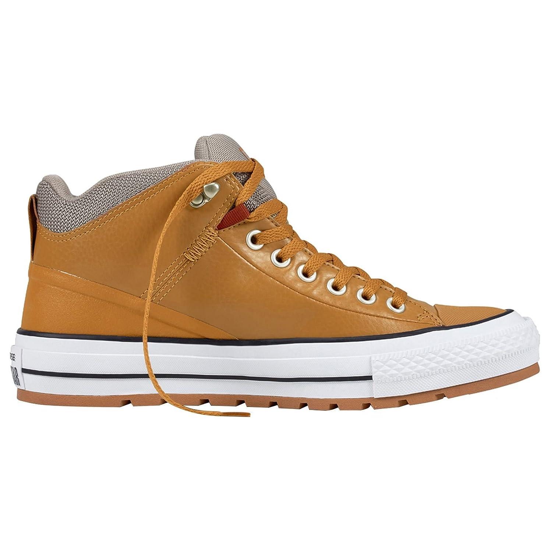 Converse Men's CTAS Street Boot Hi Skateboarding Shoe B06XGW897M 5 D US Raw Sugar Black