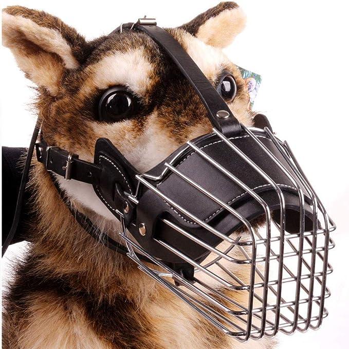 DOG MOUTH COVER Hocico del Perro Metal Máscara Cesta Alambre ...