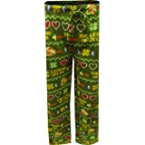 Nintendo Men's The Legend of Zelda Pixelated Lounge Pants