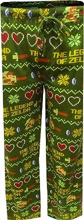 Nintendo Men's The Legend of Zelda Pixelated Lounge Pants