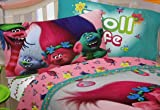 Trolls Life 100% Polyester (FLAT SHEET ONLY) Size
