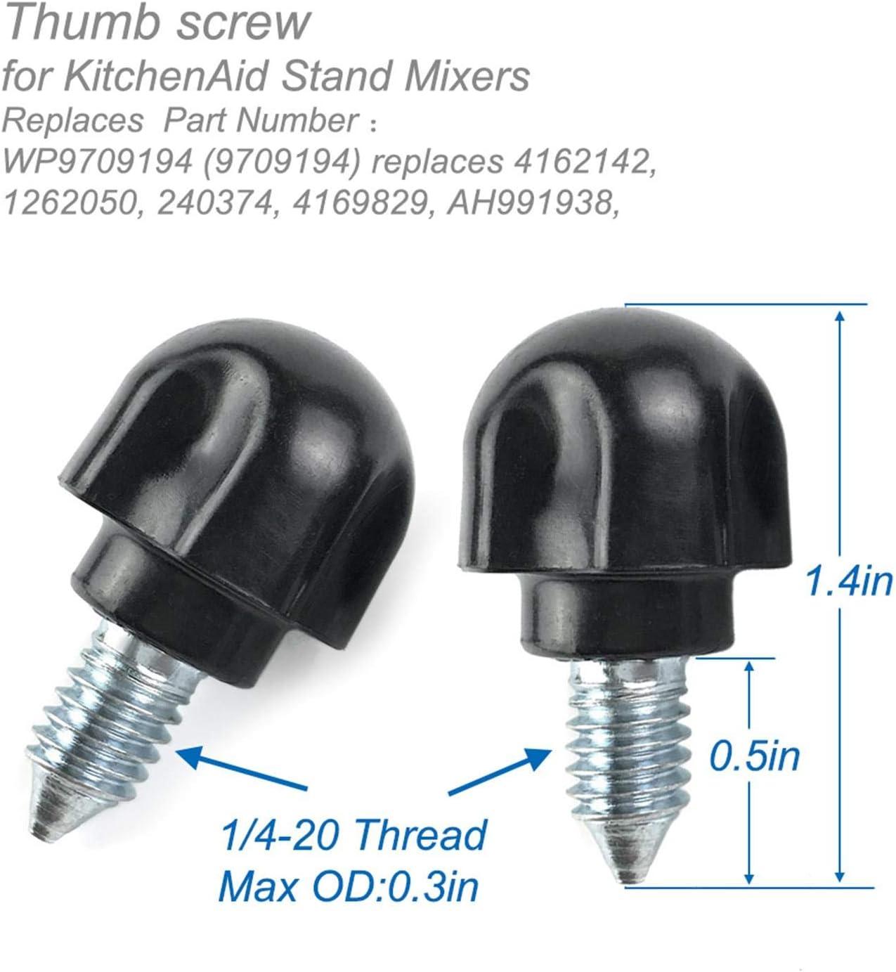 Parafuso de KitchenAid 4159247 3400020 Whirlpool Mixer Parafuso 4159214