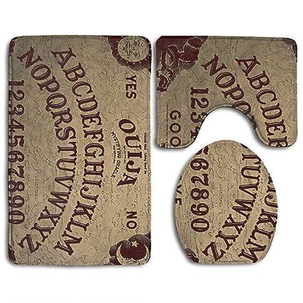 Amazon.com : DING Ouija Board Soft Comfort Flannel Bathroom Mats ...