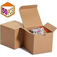 Cajas de regalo 7.6x7.6x7.6cm, cajas de papel blanco