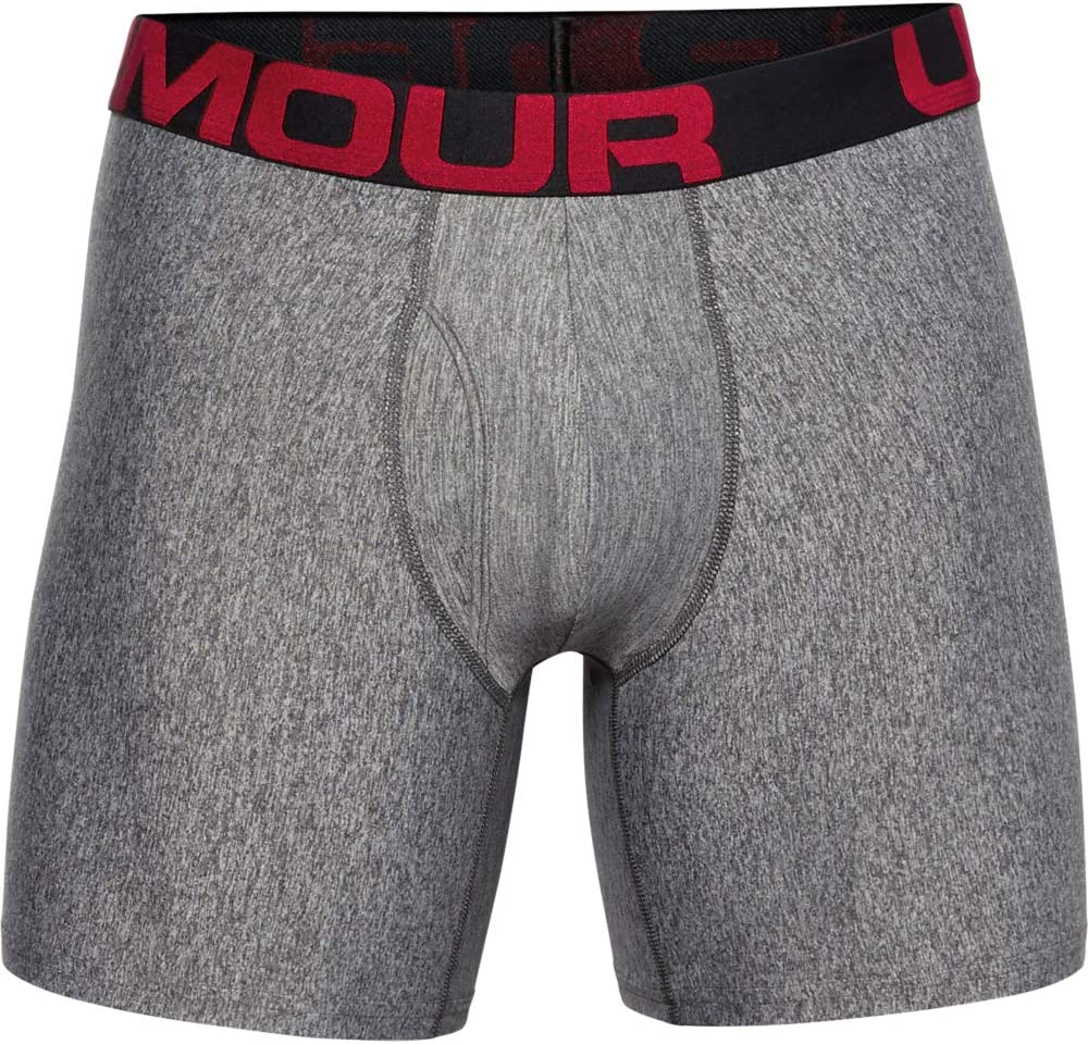 Boxer Uomo Under Armour Tech 6in 2 Pack