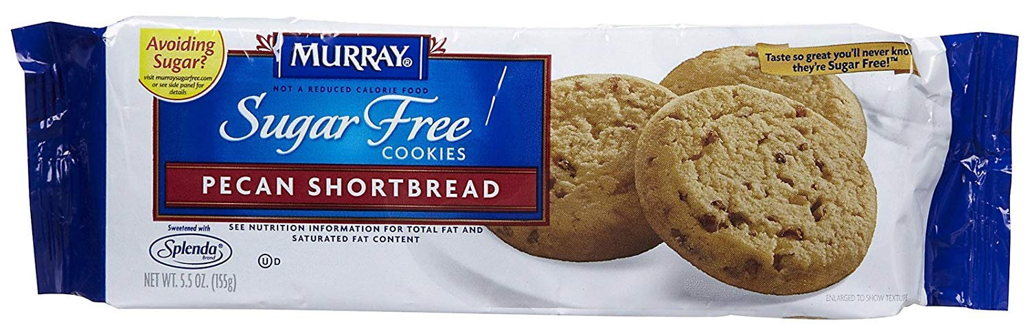 Murray Sugar Free Coookies - Pecan Shortbread
