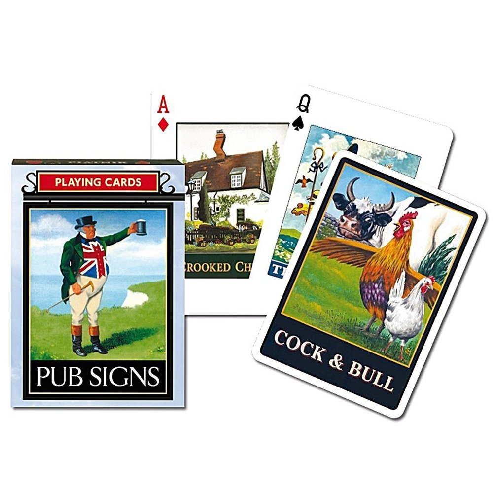 Pub Sign Playing Cards - Gibsons