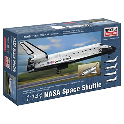 Minicraft NASA Shuttle Building Kit, 1/144 Scale: Toys & Games