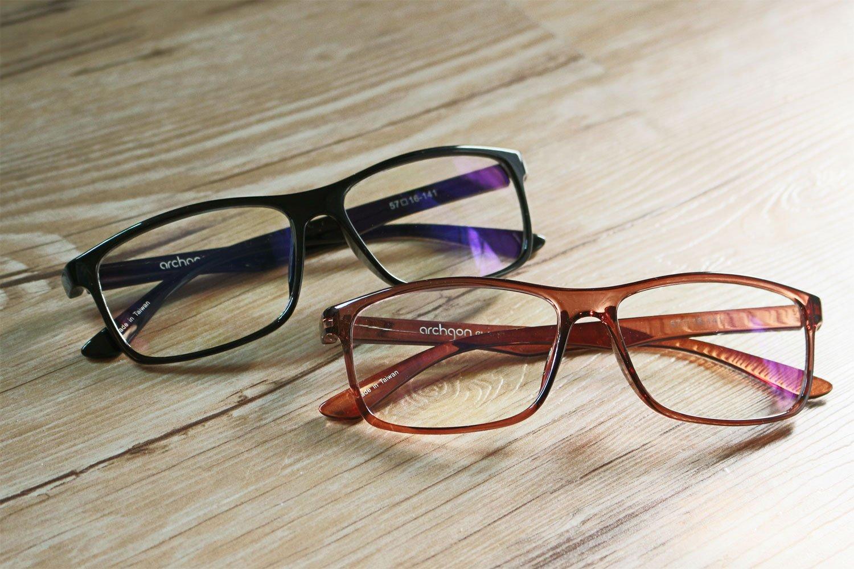 HornetTek BLK104 Computer & Gaming Glasses with Blue Light Protection & UV Filter Eyewear Light Weight Frame with Crystal Lens