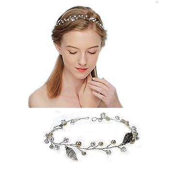 Ealicere Haarhalter Für Damen Und Mädchen Braut Haarschmuck Perle