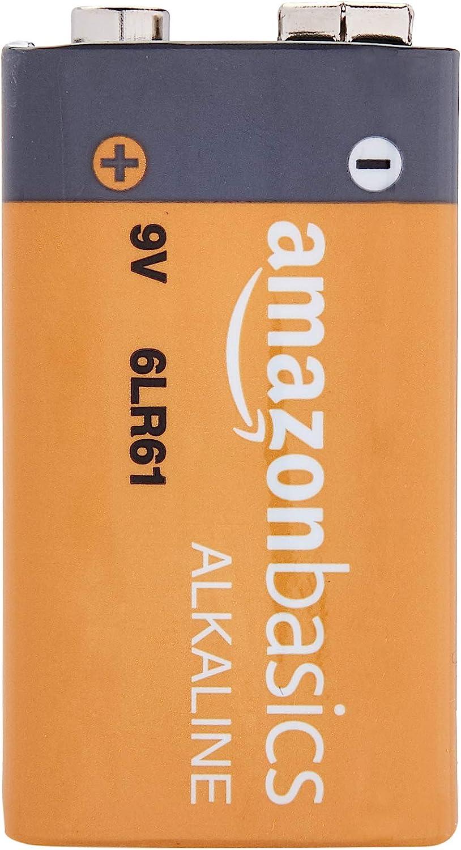 Brennenstuhl Feuchtigkeits-Detector MD anthrazit//gelb /& Basics Everyday Alkalibatterien Feuchtigkeitsmessger/ät//Feuchtigkeitsmesser f/ür Holz oder Baustoffen, mit LCD-Display 9/V 4 St/ück