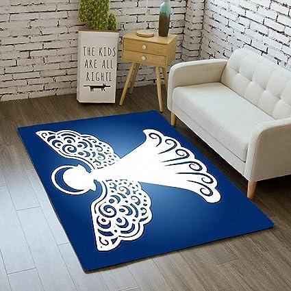 Laser Cut Floor Mats >> Amazon Com Ibathrugs Door Mat Indoor Area Rugs Living Room