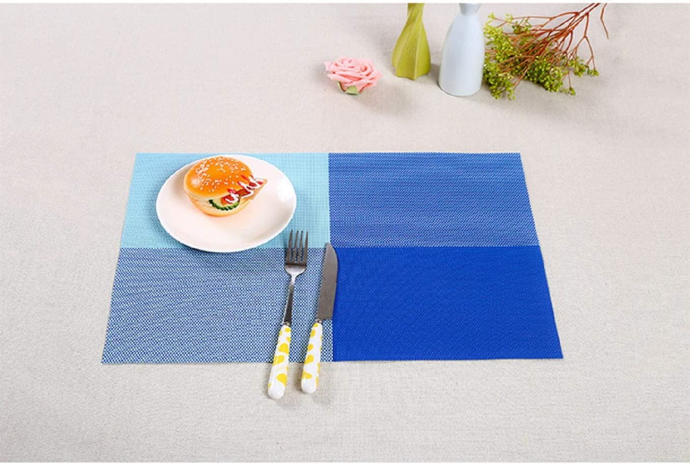 United Office Chair. 002 Mats Kitchen Dining Table Decoration, Blue