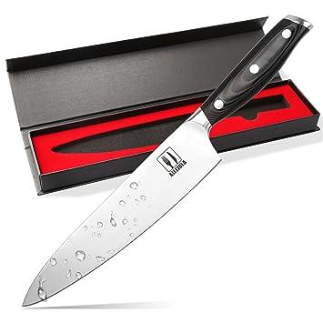 Amazon Com Allezola Professional Chef S Knife Inch German