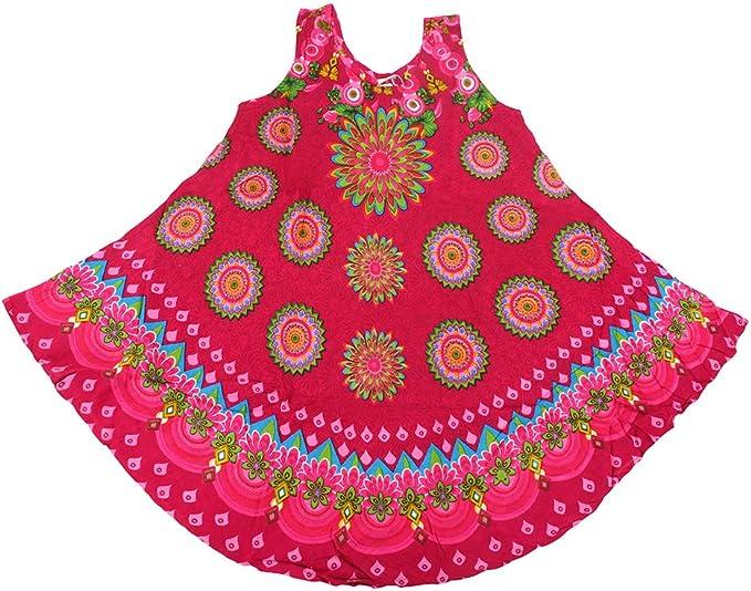 Vestito Mare Taglia Unica Indian Emporium Kaftano Mare Copricostume Prendisole Made in India