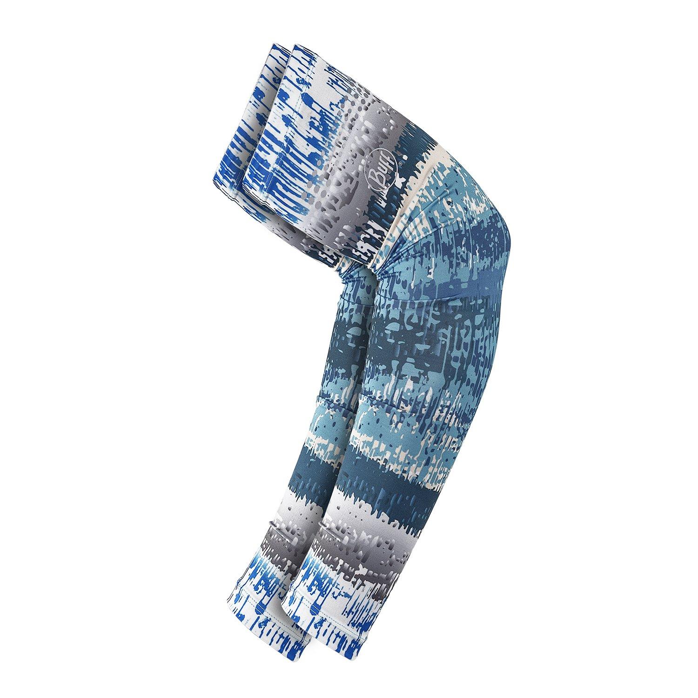 BUFF UV Arm Sleeves, Aqua Glitch, Large/X-Large