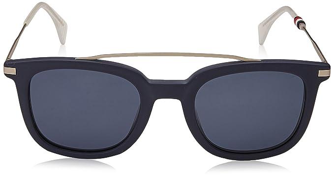 0a209af7978e3a Tommy Hilfiger TH 1515 S KU PJP 49 Montures de lunettes Homme, Bleu  (Blu Blue),  Amazon.fr  Vêtements et accessoires