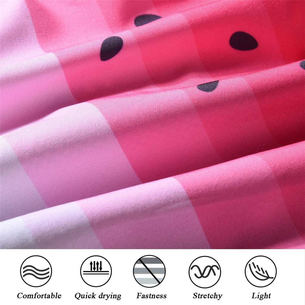 Arcweg Pantaloncini da Bagno per Donna Coulisse Regolabile Pantaloncini da Spiaggia Nuoto Asciugatura Veloce Elastico Pantaloncini da Surfe Protezione UV Tasche a Rete