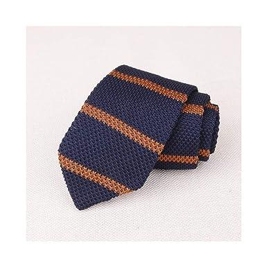 Trajes de los hombres de punto corbata llana corbata para el ...