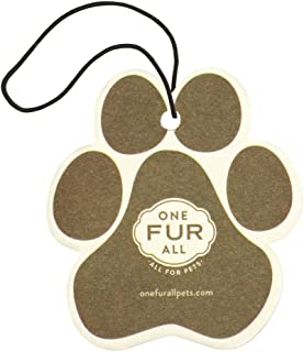 product image for One Fur All Pet House Car Air Freshener, Pack of 4 – Non-Toxic Auto Air Freshener, Pet Odor Eliminating Air Freshener for Car, Ideal for Small Spaces, Dye Free Dog Car Air Freshener (Pumpkin Spice)