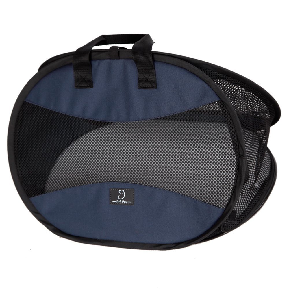 A4Pet Ultra Light, Sturdy and Collapsible Pet Carrier for Cats and Small Animals up to 20 lbs by A4Pet (Image #5)