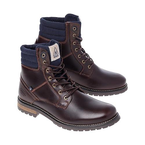 GaastraCardinal High - botas de caña baja con forro cálido y botines Hombre , color marrón, talla 46 EU: Amazon.es: Zapatos y complementos