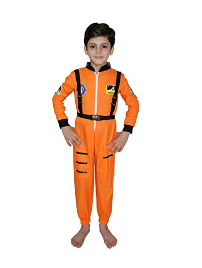 Buy Kaku Fancy Dresses Astronaut Cosplay Costume Space Costume For