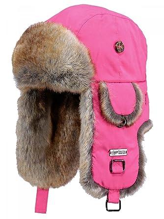 1fa115e06ff7 BARTS - Chapka imperméable rose framboise imitation fourrure enfant fille 3  au 10 ans Barts  Amazon.fr  Vêtements et accessoires
