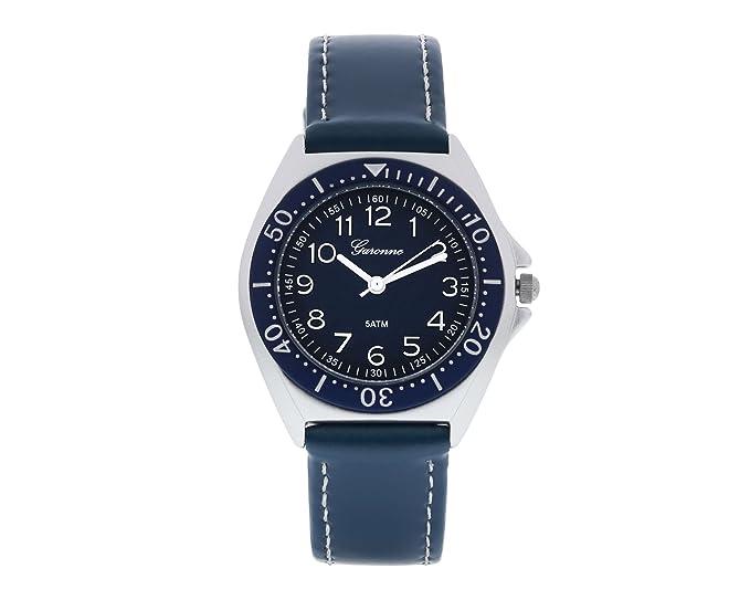 garonne Joven Reloj analógico Quartz plástico azul kv22q456: Amazon.es: Relojes