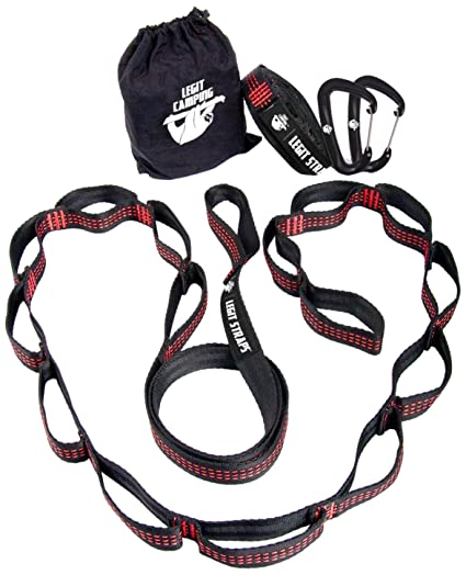 legit camping lgt 3001 hammock straps with carabiners per strap  patible with all amazon    legit camping lgt 3001 hammock straps with carabiners      rh   amazon