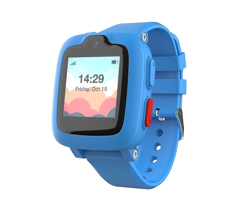 Reloj Inteligente 3G con Rastreador GPS, Pantalla táctil, Cámara, Alarma remota SOS de toque, monitorizador de fitness, smartwatch impermeable para ...