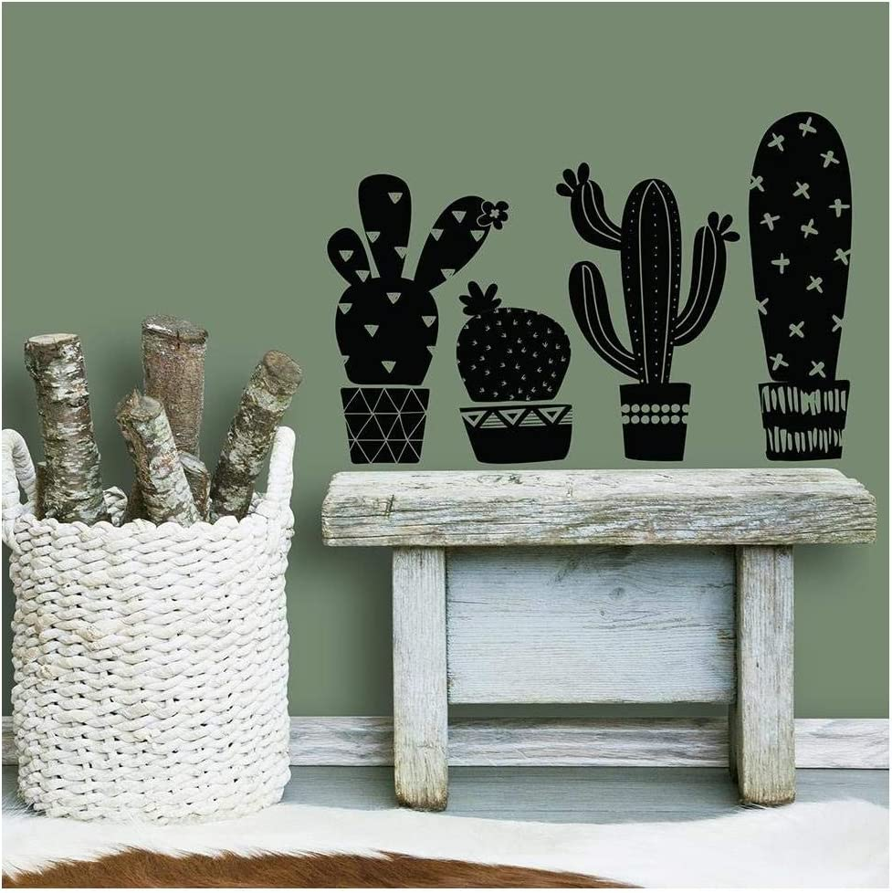 RoomMates Geo Cactus Peel And Stick Wall Decals