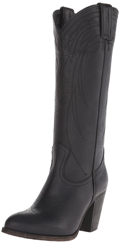 FRYE Women's Ilana Pull-On SHOVN Western Boot B00R54XJCK 11 B(M) US|Black-76798