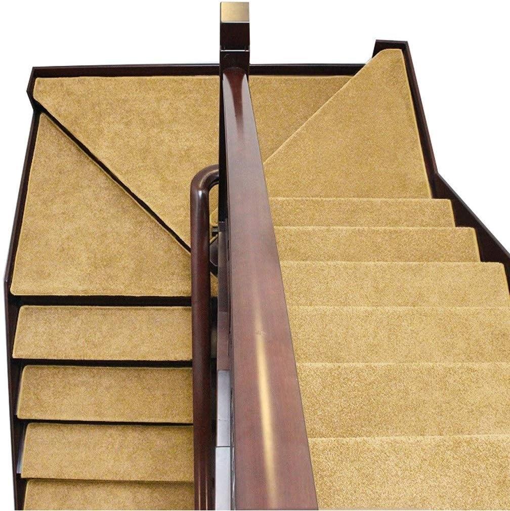 Alfombras de escalera Juego de alfombrillas for peldaños de escalera Juego de 5 alfombras autoadhesivas de alfombra 65x24cm Protector antideslizante antideslizante for pisos Lavable Disponible en 5 co: Amazon.es: Hogar