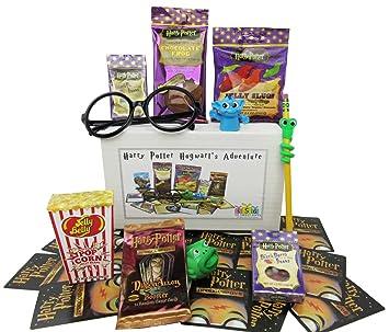 Amazon.com : Harry Potter Hogwarts Adventure Goodies Gift Box ...