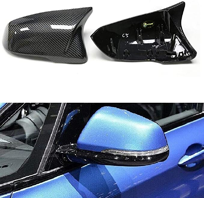 Karbonfaser Auto Seitenspiegel Abdeckung Rückspiegel Abdeckung Verkleidung Für Bmw 2er F45 F46 X1 F48 F49 X2 F39 Ersatz Auto
