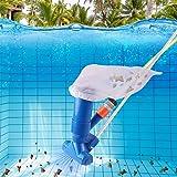 iSinofc Kit de aspirador de pó portátil para piscina, mini acessórios para aspirador de piscina, adequado para piscinas acima
