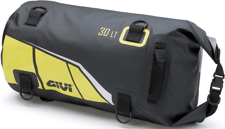 Givi ea114by - Bolsa Impermeable para portaequipajes (30 L), Color Negro y Amarillo