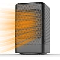 ALROCKET Oscillating Space Heater, Indoor Personal Heater, Electric Ceramic Heater with Over Heat Protection, Tip Over…